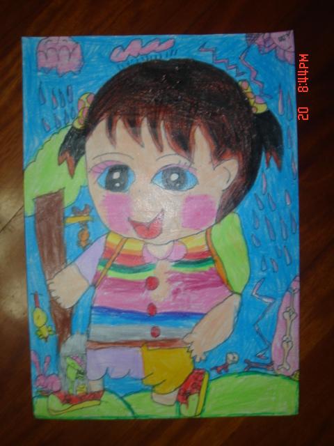 信心;为孩子们的童年留下五彩的记忆中艺少儿美术培训基地高清图片